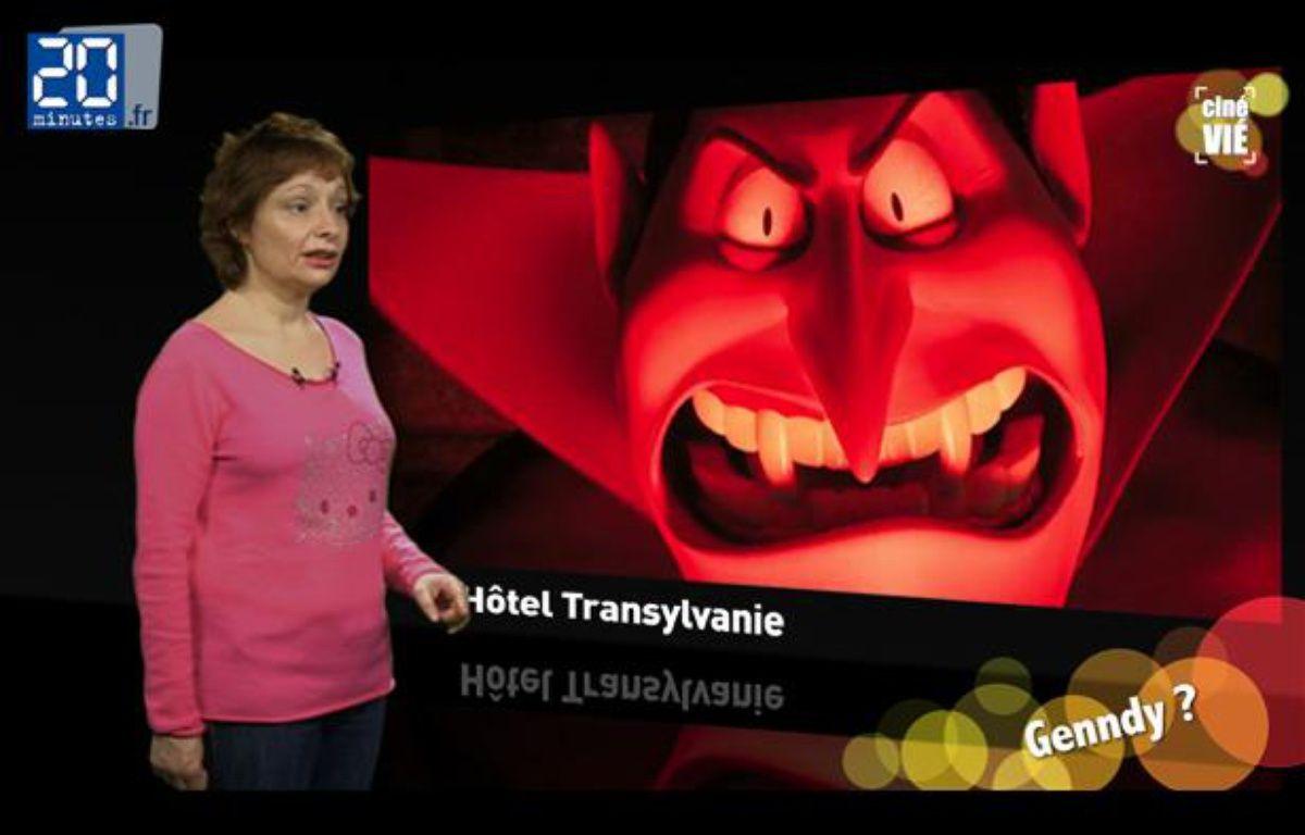 Caroline Vié, critique ciné de 20 Minutes, décrypte «Hôtel Transylvanie». – JD-TL / 20 Minutes