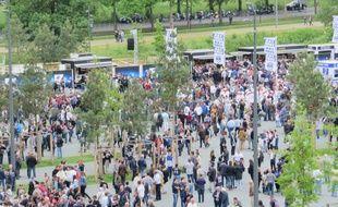 Fan Zone au Nouveau Stade de Bordeaux