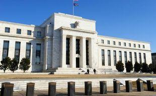 La Banque centrale américaine, la Fed, le 12 février 2009 à Washington