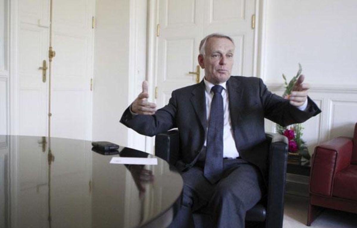 Jean-Marc Ayrault le 25 mai 2012 à Nantes (Loire-Atlantique). – DESSONS ERIC/JDD/SIPA