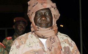 Michel Djotodia, le 7 janvier 2013, à Libreville, capitale du Gabon.