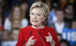 Hillary Clinton le 31 octobre 2016, à Kent, dans l'Ohio.