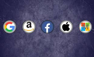 GAFAM est l'acronyme des géants du Web : Google, Amazon, Facebook, Apple et Microsoft