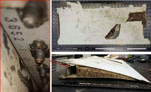 Ce débris d'aile retrouvé à l'île Maurice a été relié au Boeing de la Malaysian Airlines disparu en 2014.