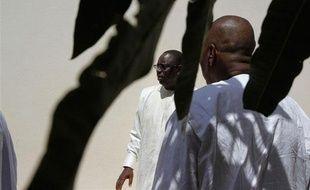 Macky Sall dans son domicile du centre de Dakar, au Sénégal, le 27 février 2012.