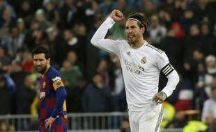 Sergio Ramos et Lionel Messi