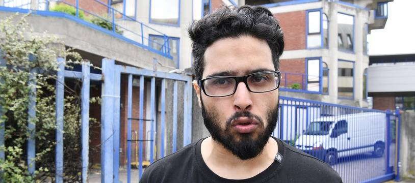 Jawad Bendaoud devant le tribunal de Bobigny, le 25 avril 2018.