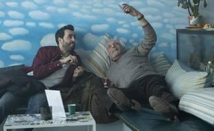 Jonathan Cohen et Gérard Darmon dans «Family Business».