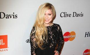 La chanteuse Avril Lavigne