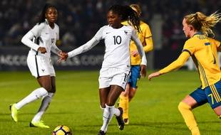 Aminata Diallo et ses coéquipières n'ont pas réussi à trouver la faille face à la Suède.