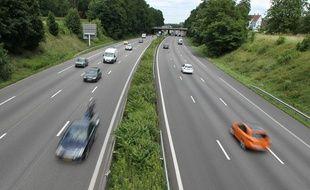 Le drame a eu lieu sur l'autoroute, en septembre 2017. Illustration