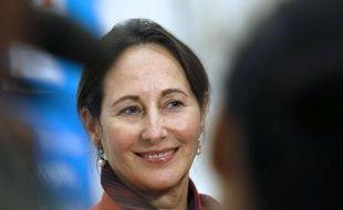 La ministre française de l'Ecologie Ségolène Royal le 9 octobre 2014 à Paris