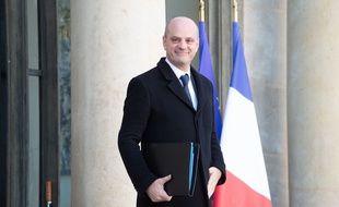 Jean-Michel Blanquer à l'Elysée, le 6 janvier 2020.