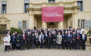 Le Parlement des territoires, ce mercredi, à Castries.