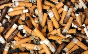 Des mégots de cigarettes. (photo illustration)