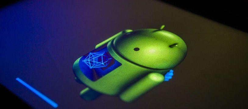 Une tablette sous le système Android de Google.