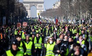 L'acte 15 de la manifestation des «gilets jaunes» le week-end dernier.