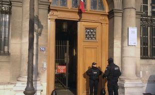 Le 36, quai des Orfèvres, où ont eu lieu les faits présumés.
