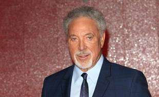 Le chanteur Tom Jones
