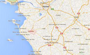 La ville de Challans en Vendée.