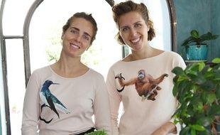 Les sœurs Munoz élaborent les cosmétiques et le packaging à Grasse.