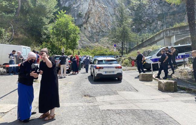 La police municipale mobilisée au quartier des Liserons après les violences du 14 juin.