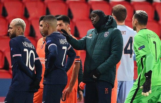 Le match PSG-Basaksehir a été interrompu pour soupçon d'insultes racistes de la part du quatrième arbitre.