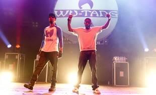 Le Wu-Tang Clan en 2013 à Londres.