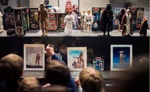"""Exposition """"Les Jouets Star Wars"""" au musée des Arts décoratifs, à Paris."""