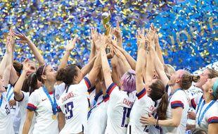 Les Américaines ont remporté la Coupe du monde, le 7 juillet 2019 à Lyon.