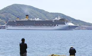 """Le """"Costa Atlantica"""" au Japon, le 31 mai 2020."""