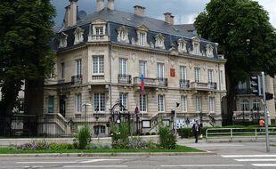 Le consulat de Russie à Strasbourg.