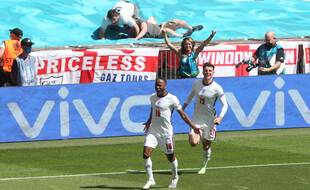 Raheem Sterling a donné la victoire à l'Angleterre chez lui à Wembley