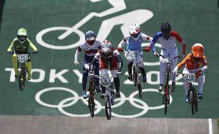 Les quarts de finale de la compétition de BMX des JO de Tokyo ont eu lieu jeudi 29 juillet à Ariake.