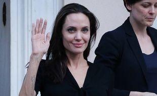 Angelina Jolie en Grèce