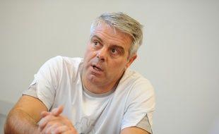 Nantes, le 20/09/2010, Thierry ANTI entraineur du HBC Nantes lors d une conference de presse