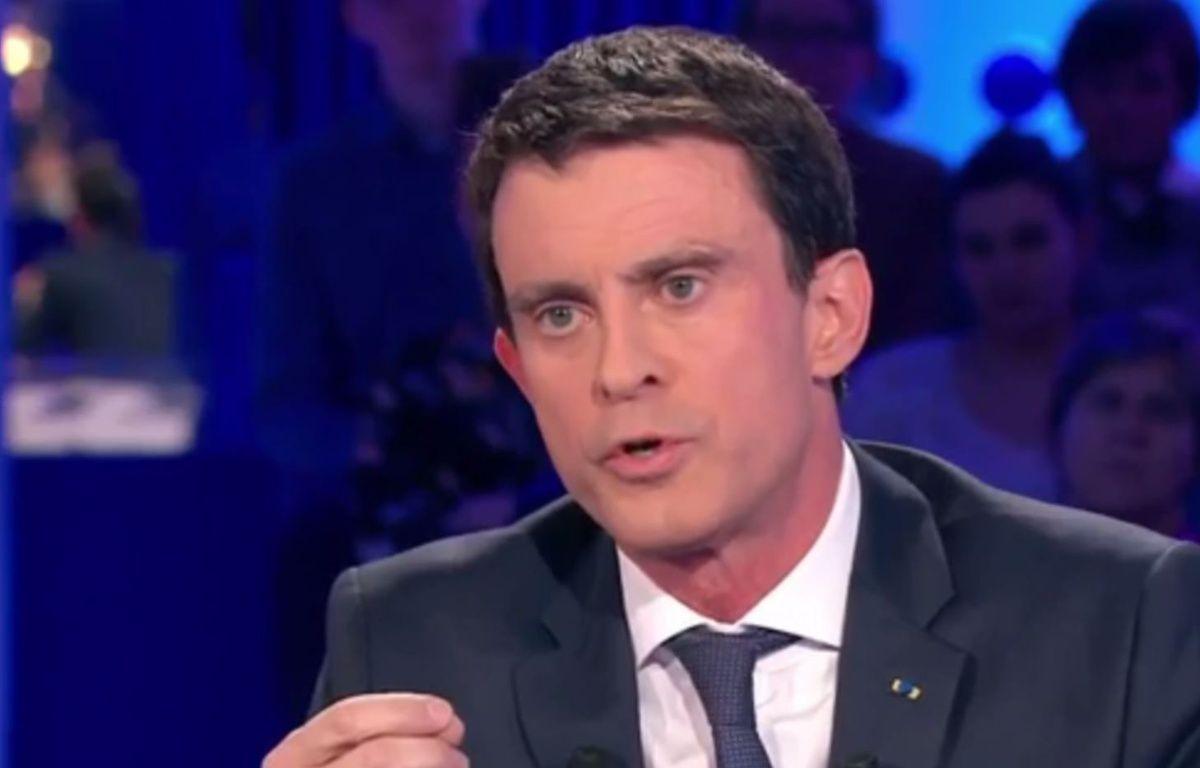 Manuel Valls dans l'émission «On n'est pas couché», le 16 janvier 2016. – France 2