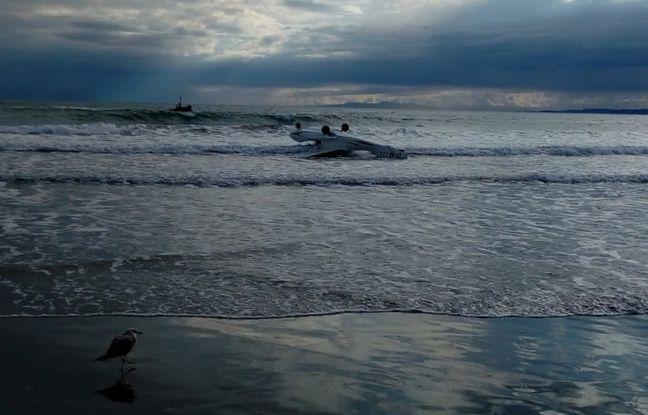 L'ULM d'un homme de 75 ans s'est échoué près d'une plage d'Agde.