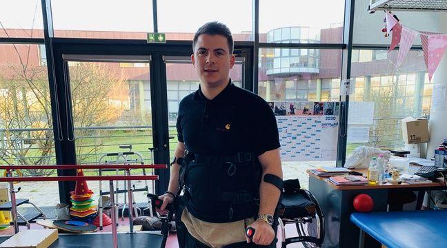 Paraplégique, il va participer à un semi-marathon grâce à un exosquelette