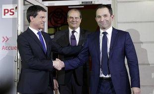 Manuel Valls après sa défaite à la primaire élargie du PS face à Benoît Hamon