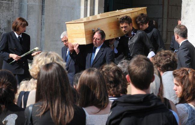 Obsèques d'Agnès, Arthur, Thomas, Anne et Benoît Dupont de Ligonnès à Nantes.