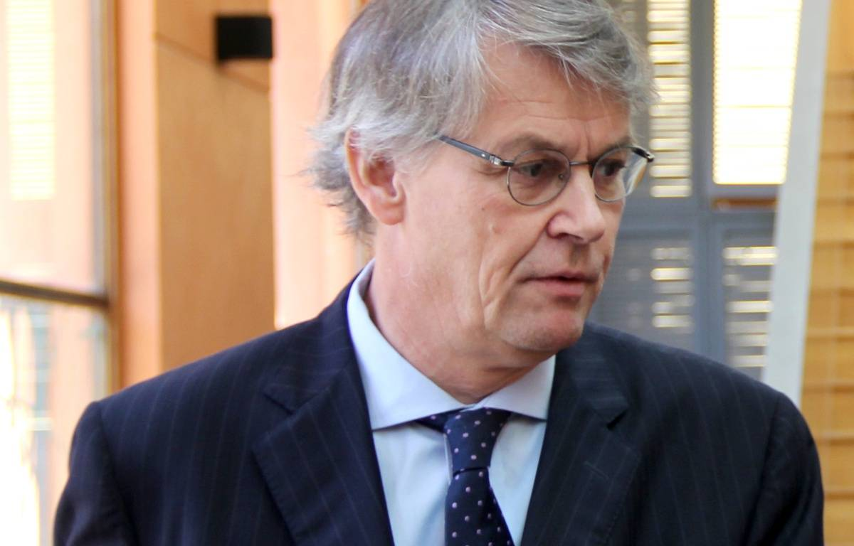Dominique Bernard, le PDG, lundi. – Minutes