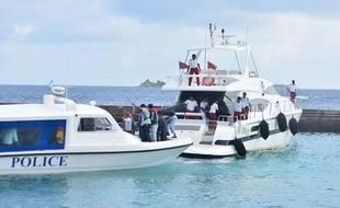 Le yacht du président des Maldives a été la cible d'un attentat, le 28 septembre 2015.