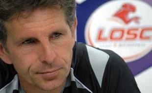 Claude Puel, l'entraîneur du Losc.