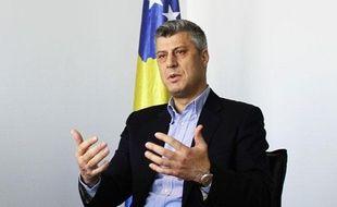 Le Premier ministre du Kosovo, Hashim Thaci, à Pristina, le 8 décembre 2010.