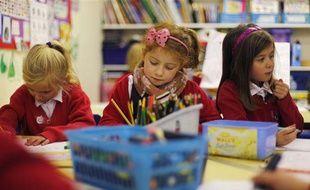 L'école primaire de Watlington, dans le sud de l'Angleterre, le 14 décembre 2011