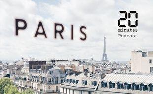 Vue de Paris, avec la tour Eiffel