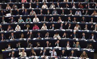 Session de vote au Parlement européen, le 13 juin 2018 (image d'illustration).