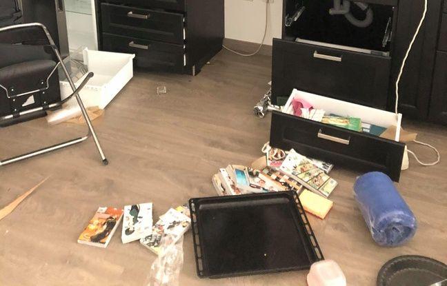 L'etat dans lequel a retrouvé son appartement Shahriyar après le premier cambriolage.