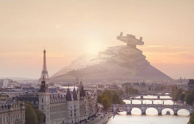 Star wars si les vaisseaux de la saga s crasaient sur - Paysage star wars ...